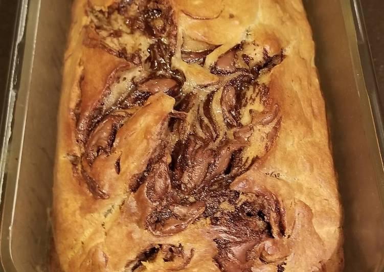 Recipe of Super Quick Homemade Nutella Banana Bread