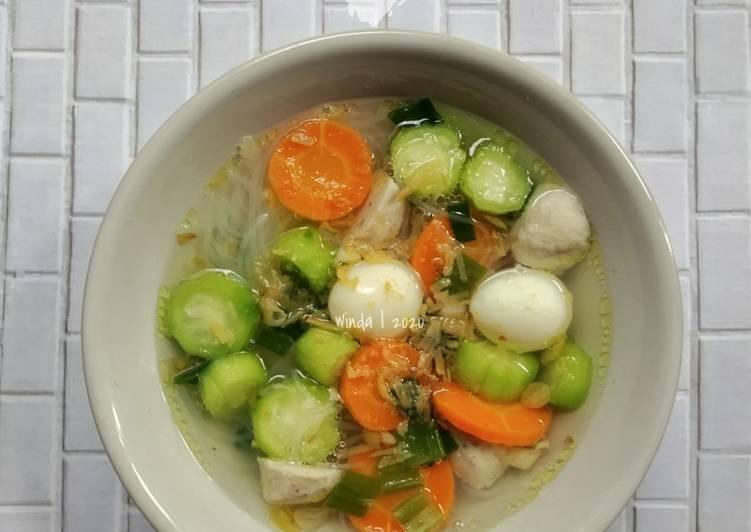 Resep Sup Oyong Telur Puyuh Lezat Resep Sop Dan Soto Yang Populer