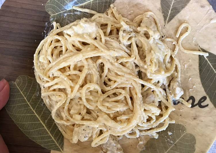 Step-by-Step Guide to Make Homemade Chicken Alfredo Pasta