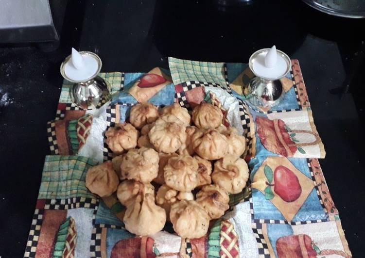 Bappa special Dryfruit modak