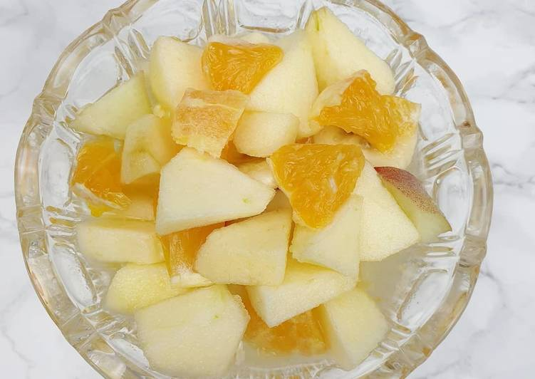 Comment Servir Salade de fruits