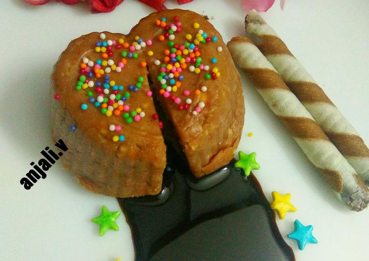 No Bake Choco Lava Cake