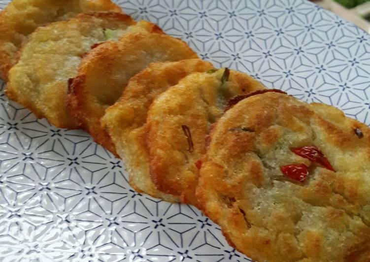 Potato Pancake ala Korea (감자전/ Gamjajeon)