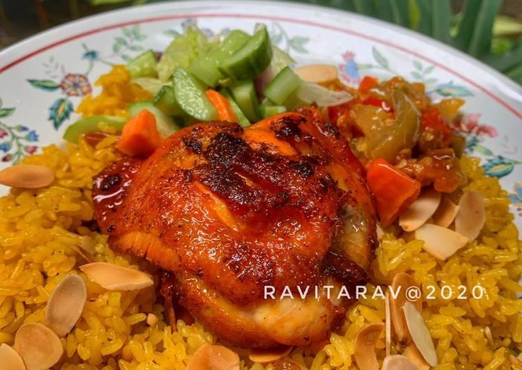 Nasi mandhi ayam
