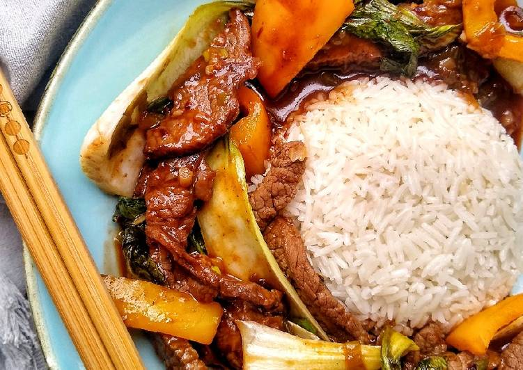 Sweet Tamarind, Honey BBQ Beef, Help Your Heart with Food