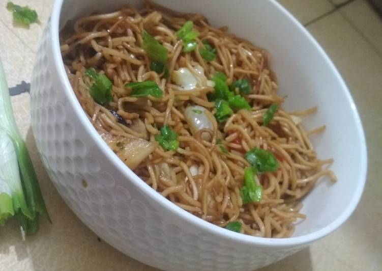 Easiest Way to Prepare Super Quick Homemade Veg Noodles