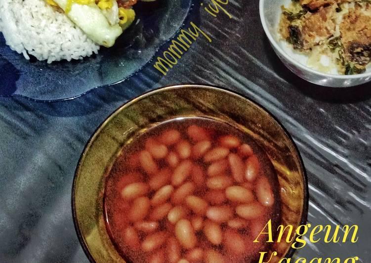 Angeun Kacang (ala sunda)/sop kacang merah