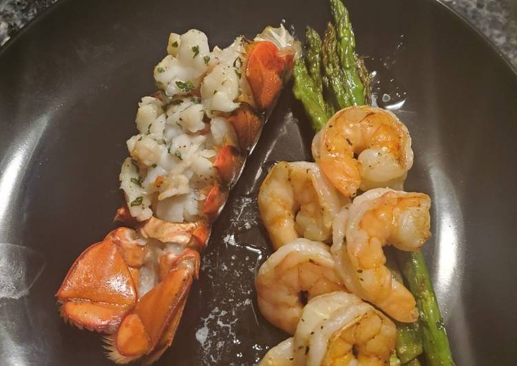 Easiest Way to Make Perfect KETO-licious Lobster & Shrimp