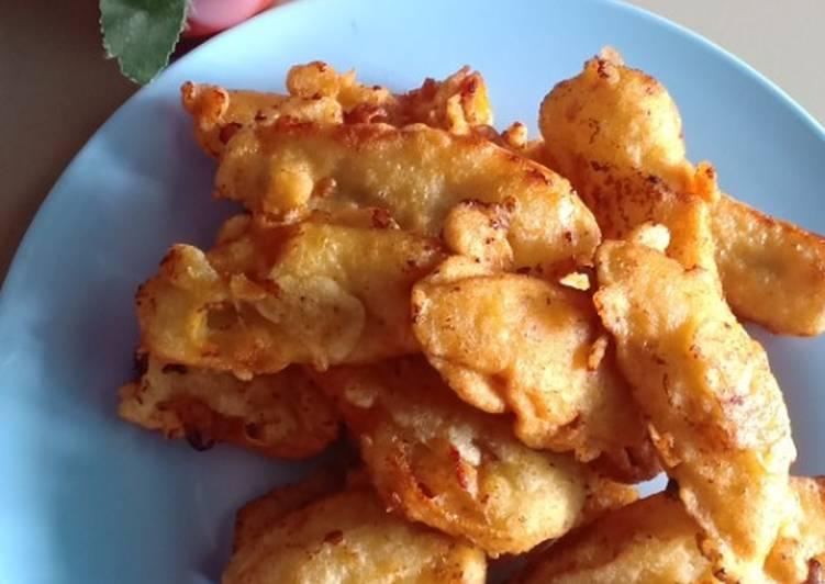 Pisang goreng crispy viral