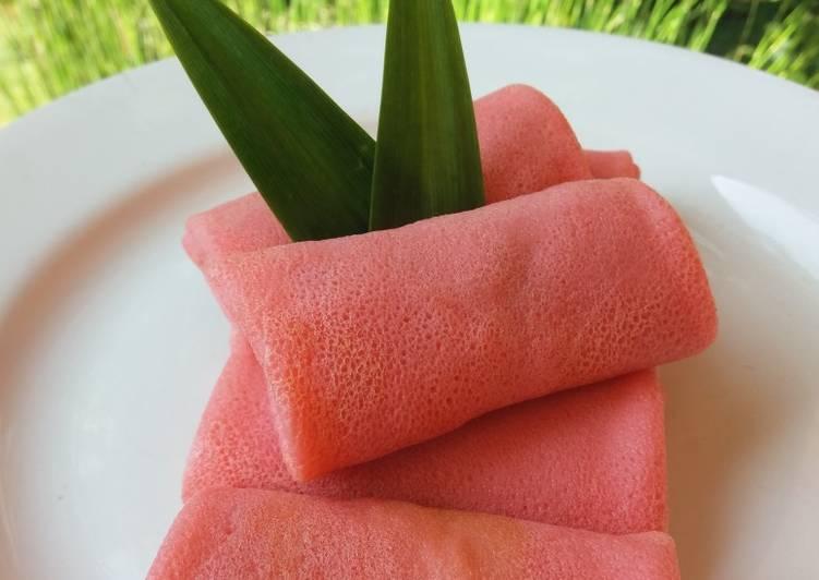 Judul : Dadar Gulung isi unti kelapa gula aren