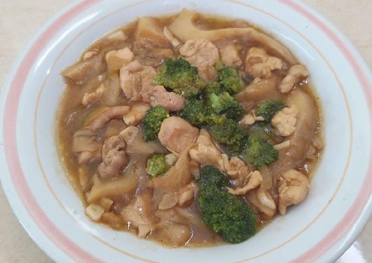 Cah brokoli ayam jamur
