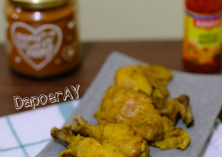 Langkah Mudah Memasak Ayam Goreng Tulang Lunak 🐥 Anti Gagal