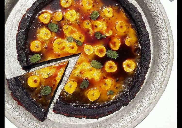 Swedish Banana Pizza (Pizza Pisang X Ubi ungu Alla Swedia)