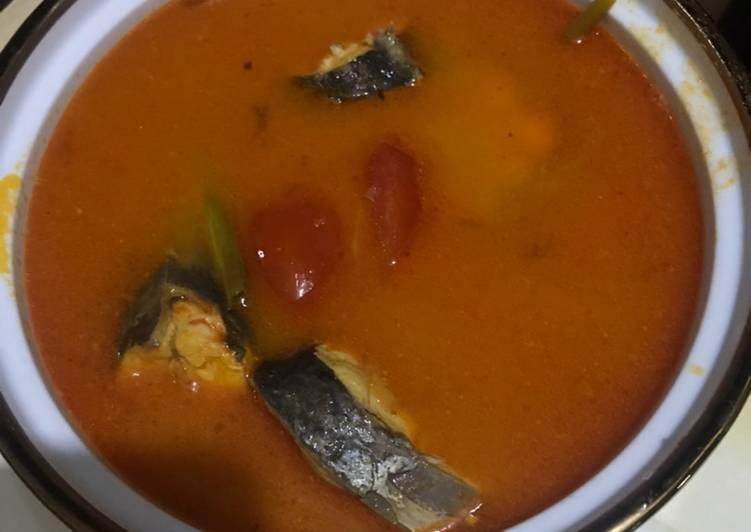 Ikan Baung masak asam