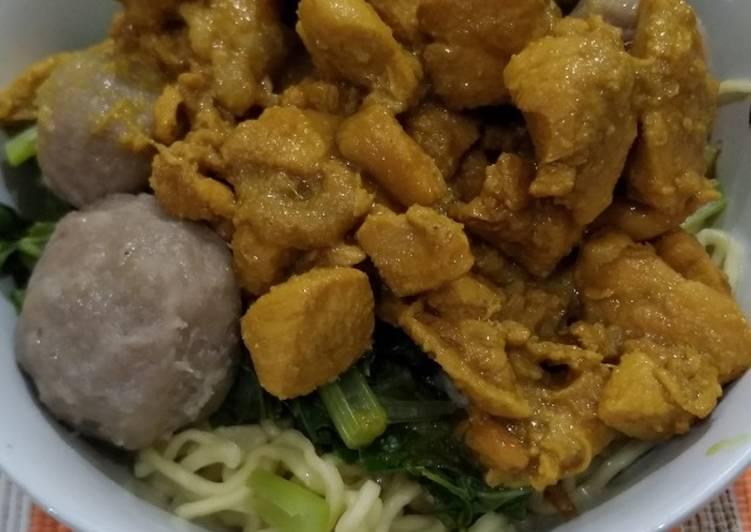 Resep Mie Ayam Wonogiri, Enak Banget