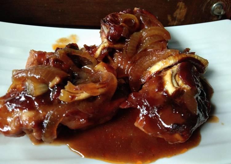 Ayam oven saos marinade