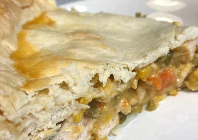 EASY Chicken Pot Pie, Choosing Fast Food That's Good For You