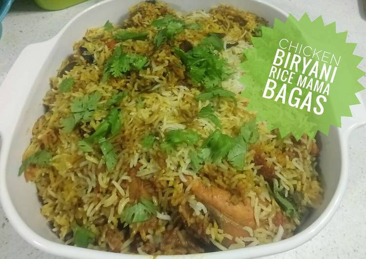 Chicken Biryani rice