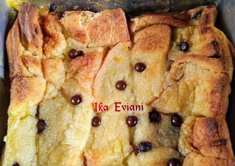 Potato Bread Puding [ Puding Kentang Roti ]