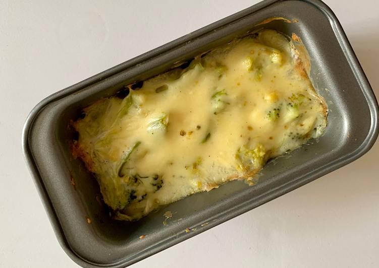 Baked Cheesy Broccoli