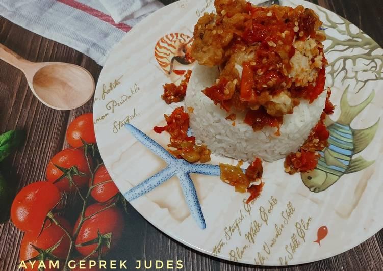 Ayam Geprek Judes