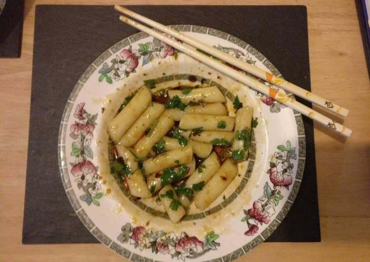 Steps to Prepare Super Quick Homemade Chinese-Style Korean Niangao (Rice Cake)
