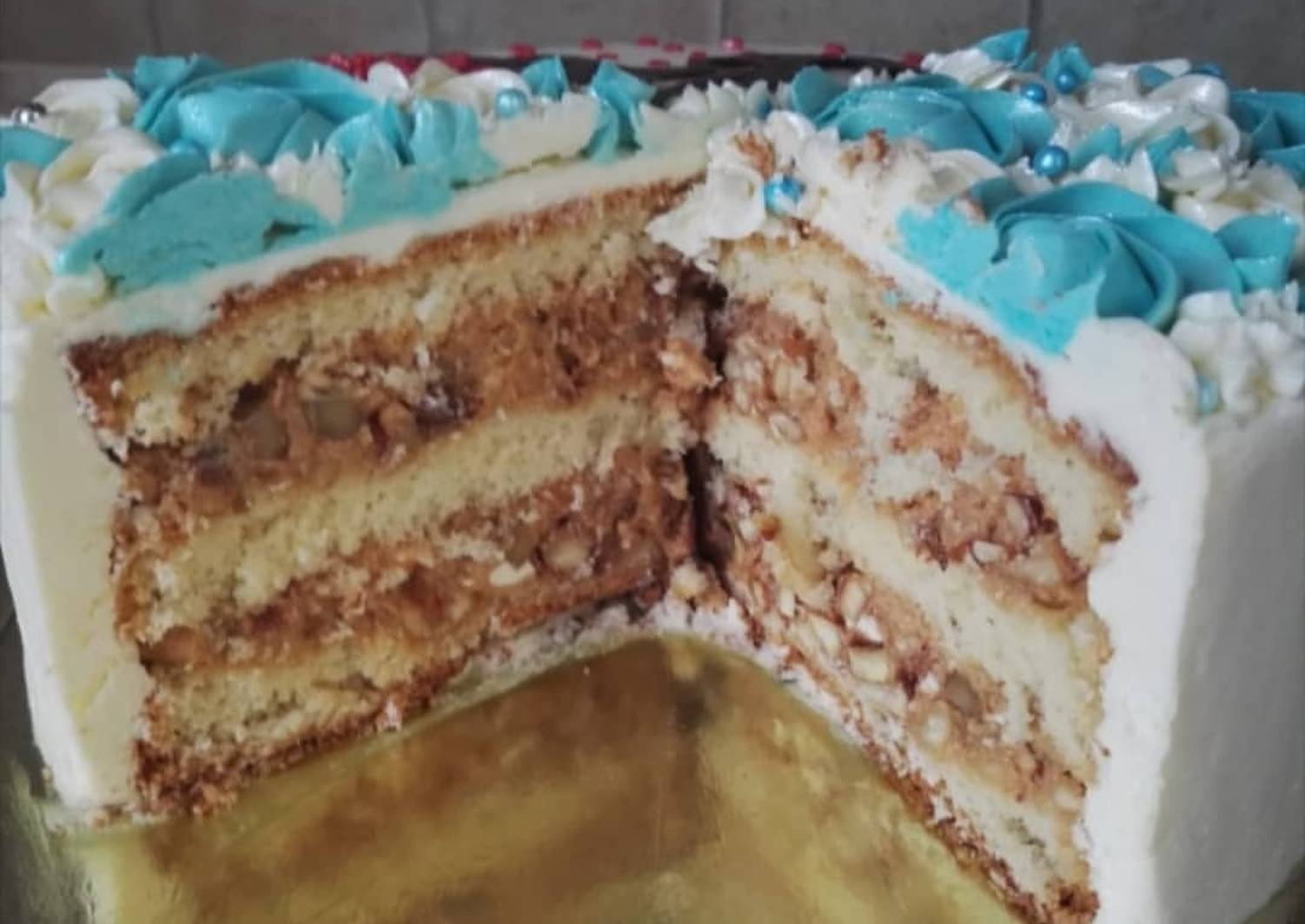 Торт ореховая ветка рецепт с фото