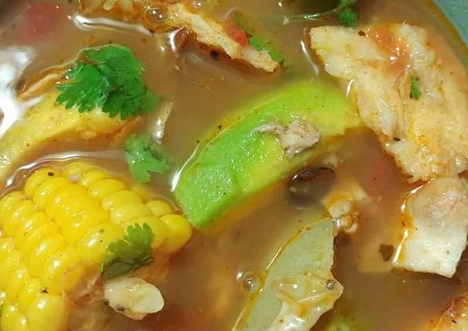 Tami's Caldo de Pollo (chicken soup)