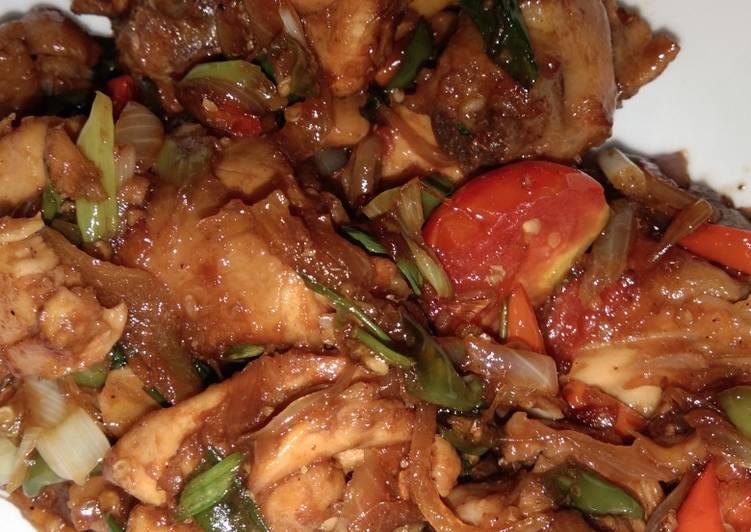 Ayam Tumis Pedas