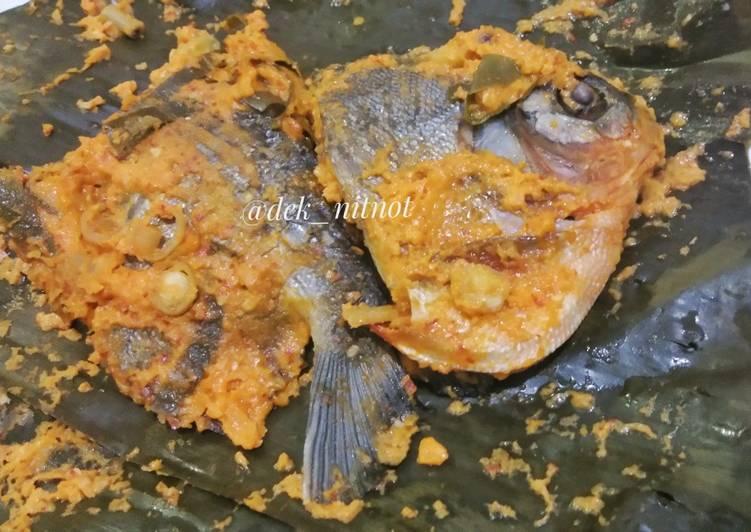 Pepes Ikan Bawal