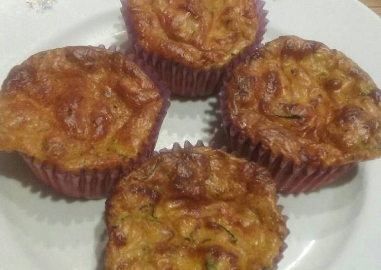 New Secret Salty zucchini muffins Free Download