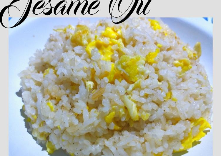 """Resep Nasi Goreng """"Sesame Oil"""" #159⁶ Paling Gampang"""