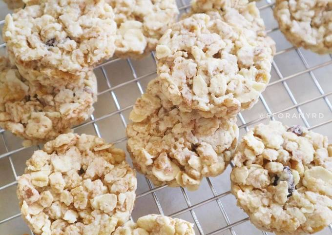 Luxury Muesli Cookies / Granola Cookies / Healthy Cookies