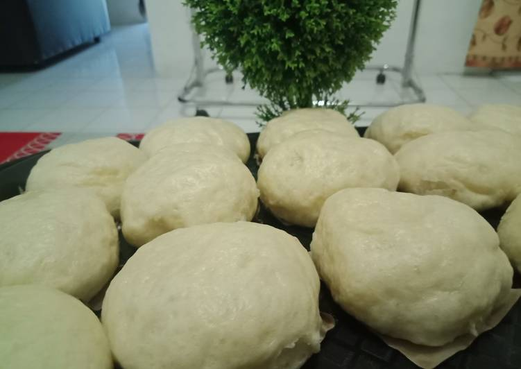 Resep Kue Pau (Bakpau) isi coklat dan inti kelapa Bikin Ngiler
