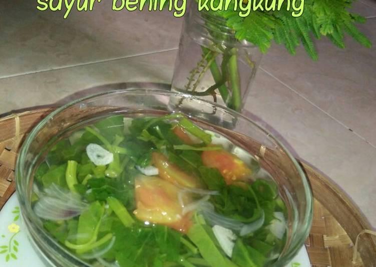 *sayur bening kangkung*