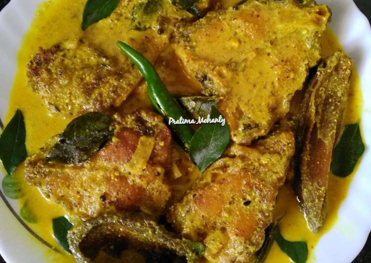 Simple Way to Prepare Speedy Fish in Tangy Mustard Sauce