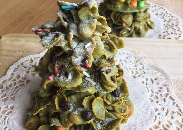 Christmas Tree Cookies 🎄