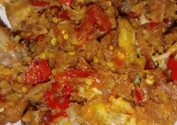 Ayam Crispy Balado