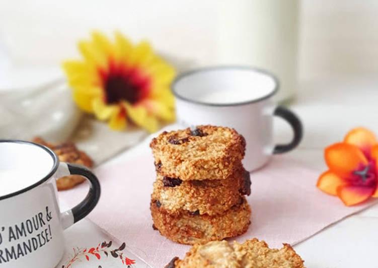 Le moyen le plus simple de Cuire Parfait Comme des cookies avoine banane cacahuète