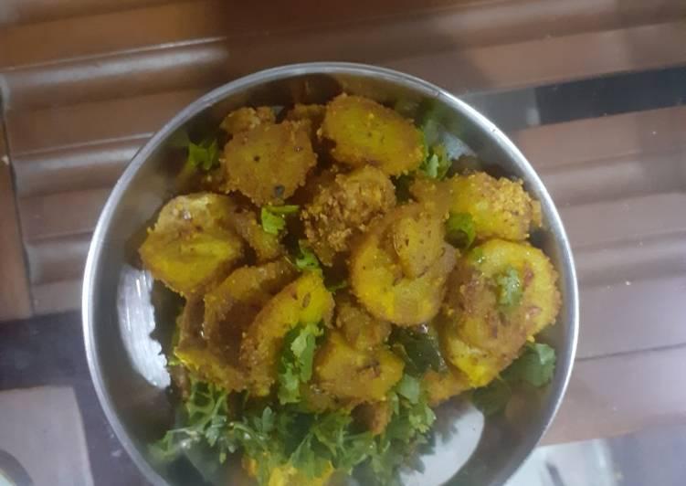 Raw Banana Sabji