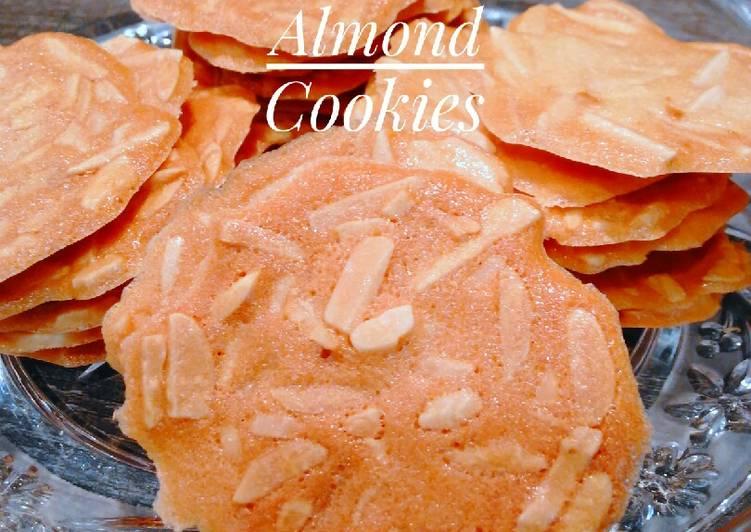 62. Crispy Almond Cookies Gaya Ndi
