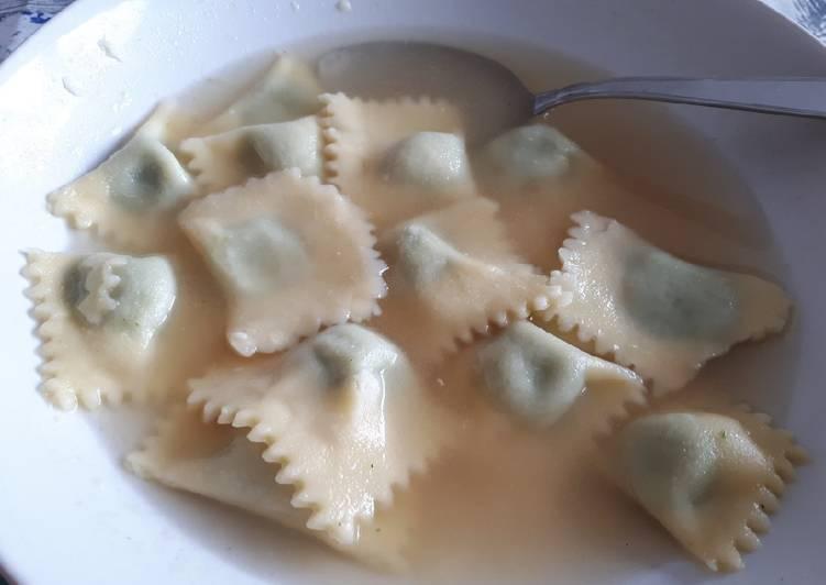 Ricetta Raviolini ricotta e spinaci con farine naturali glutenfree