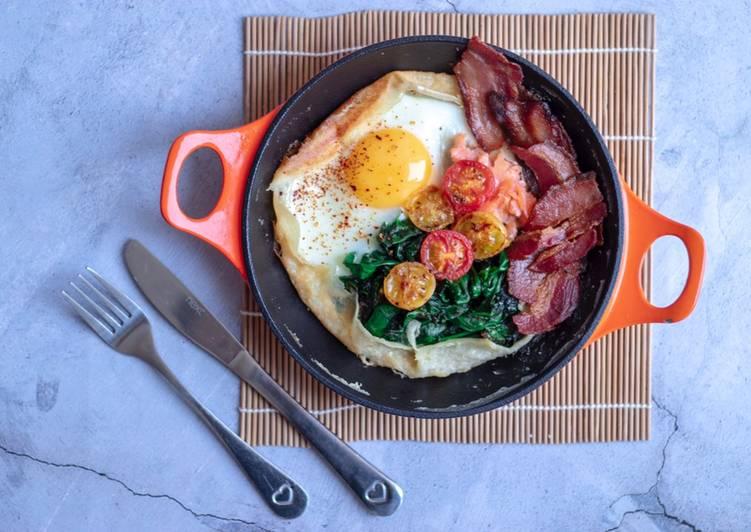 Savoury breakfast pancake 🥞
