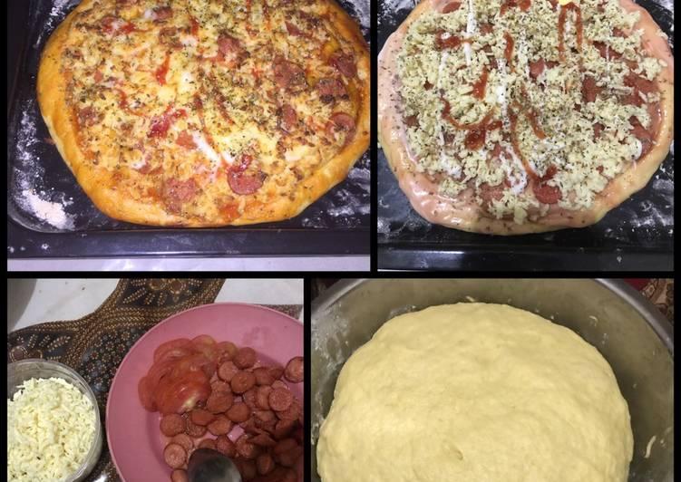 pizza oven chezy nan simple buat anak yang ga suka sayur foto resep utama Resep Indonesia CaraBiasa.com