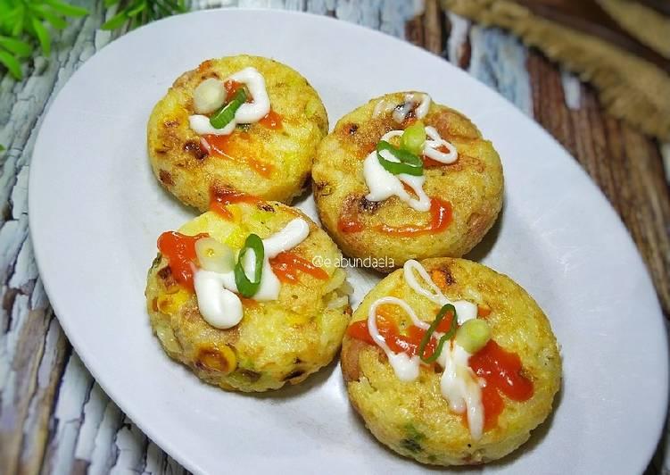 Omelette Nasi Sayur
