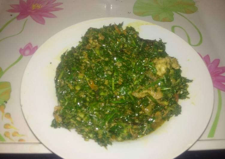 Affang soup, Choosing Healthy and balanced Fast Food