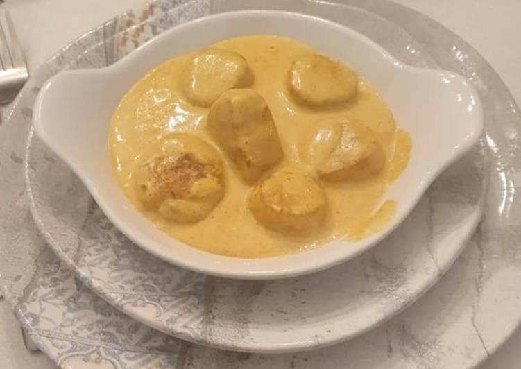 Les Saint-Jacques Coco-Curry