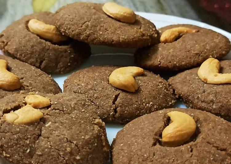 #Wheat Coco Cookies #