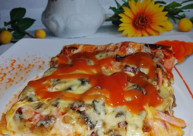 Chrupiąca pizza