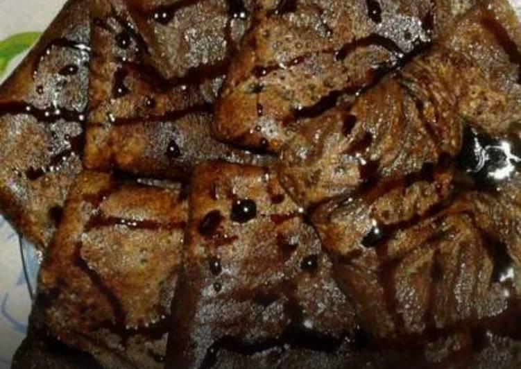 Recipe: Appetizing Chocolate banana pancakes